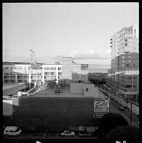 San Francisco, SOMA, Kodak T-MAX 100, 120, scanned by scanmyimages