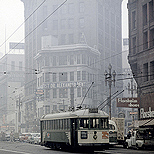 Geary - Market, San Francisco, 1956, 35mm
