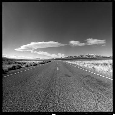 Nevada, Route 93, Kodak T-MAX 400, 120, scanned by scanmyimages